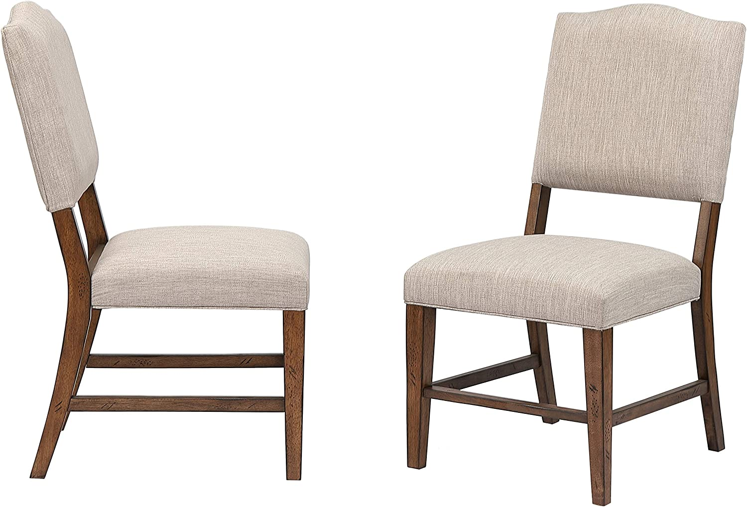Sunset Trading Simply Brook Upholstered Dining Chair, Amish Brown