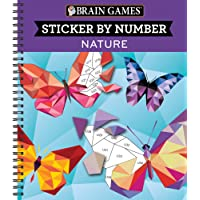 Brain Games - Sticker by Number: Nature