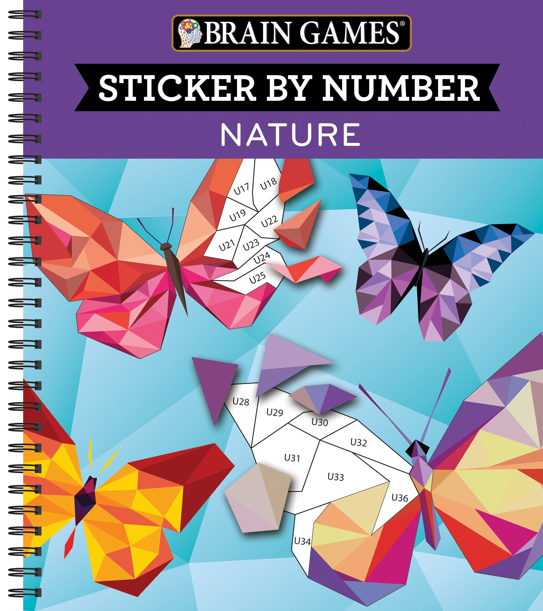 Brain Games® Sticker by Number: Nature: Editors of Publications ...