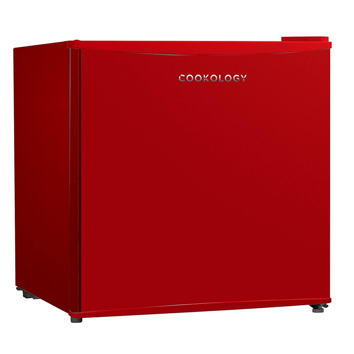 Cookology MFR45RD 46 Litre Red Tabletop Mini Fridge & Ice Box