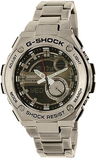 c0b7e35d99c3 Casio De los hombres Watch G-SHOCK G-STEEL Reloj GST-210D-1A  Casio -  G-Shock  Amazon.es  Relojes