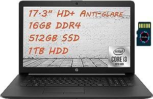 HP 17 2021 Premium Laptop Computer I 17.3