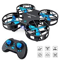 SNAPTAIN Drohne H823H Mini Drohne RC Drone für Kinder und Anfänger Quadrocopter Mini Helikopter Automatischer Höhehaltung, 3D 360° Wendung, EIN-Tasten-Rückkehr/Start / Landung, Kopflosem Modus