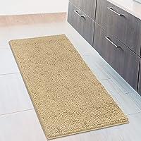 MAYSHINE 27.5x47 inch Non-Slip Bathroom Rug Shag Shower Mat Machine-Washable Bath mats with Water Absorbent Soft…