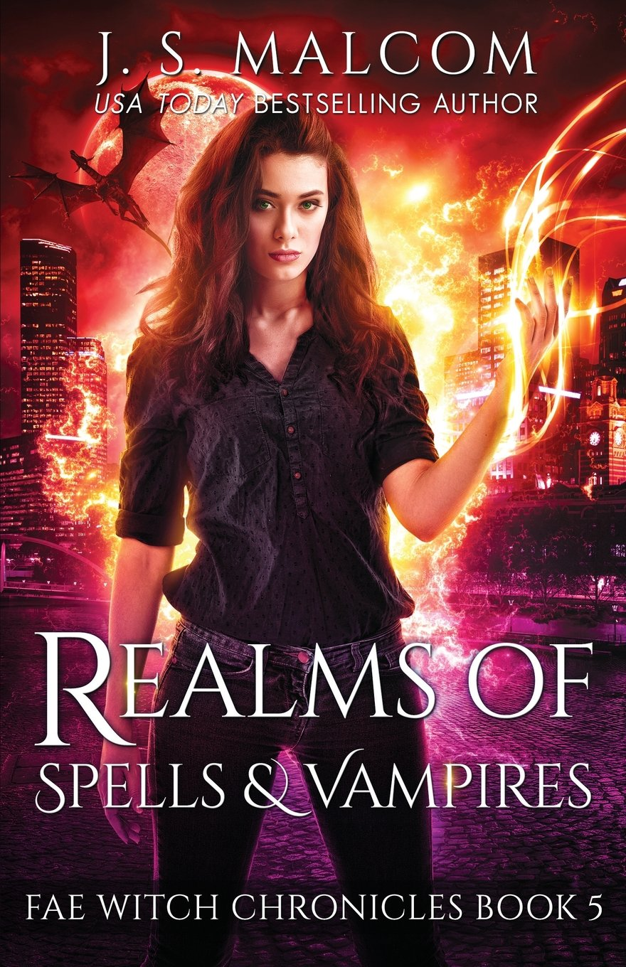 Realms of Spells and Vampires: Fae Witch Chronicles Book 5 (Volume 5) PDF