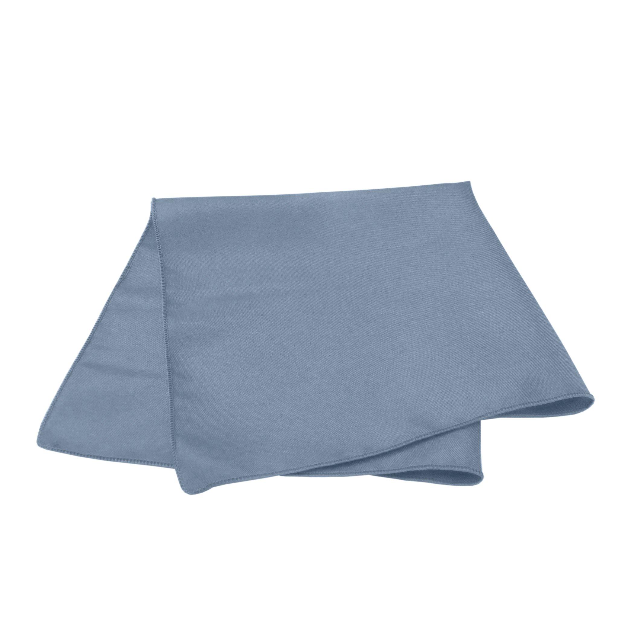 Ultimate Textile -10 Dozen- 10 x 10-Inch Cloth Cocktail Napkins, Slate Blue