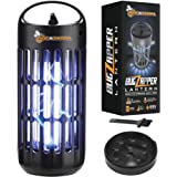 BugAZappa Bug Zapper Lantern   Great Indoor Outdoor Electric Bug, Fly & Mosquito Killer   Powerful UV Lamp Light Bulb   for H
