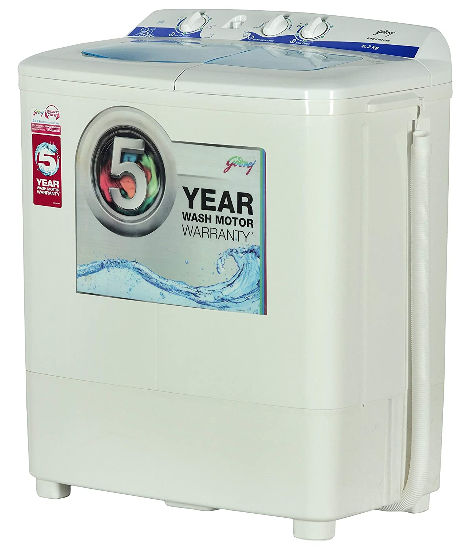 Godrej 6.2 kg Semi-Automatic Top Loading Washing Machine (GWS 6203 ... 3f4b51e46