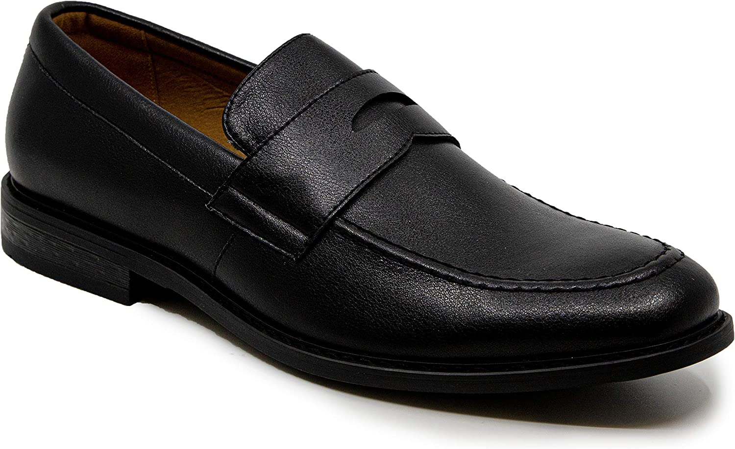 Nautica Mens Dress Shoes Slip On Oxford Moc Toe Loafer