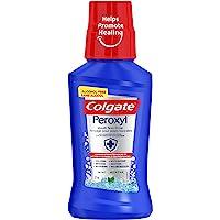 Colgate Peroxyl Mouth Sore Rinse, 1.5% Hydrogen Peroxide, Mint, 237 mL