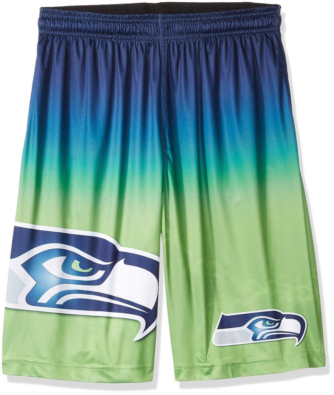 Color Large FOCO Mens Football Team Gradient Big Logo Training Shorts