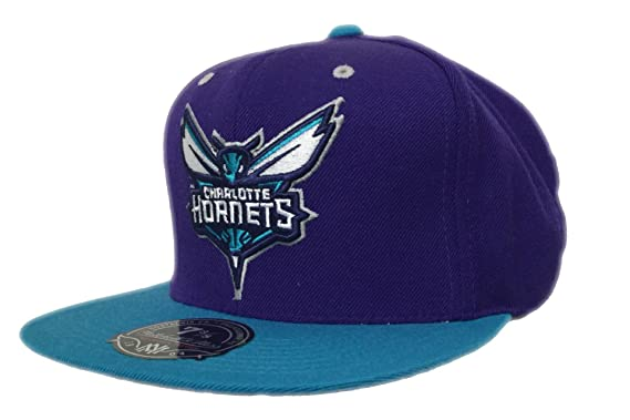 best website 141b8 05b37 Charlotte Hornets Mitchell and Ness NBA Hornets Collection Fitted Cap (7  1 2)