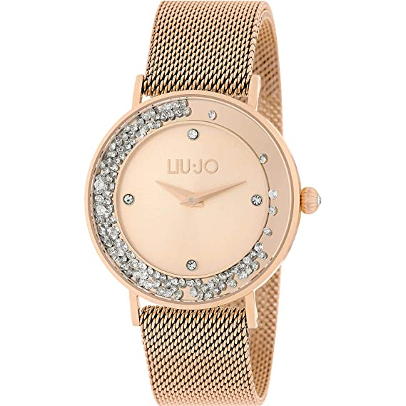 Orologio Donna Dancing Slim Gold Rose Liu Jo Luxury  Amazon.it  Orologi 7a11b13d47f
