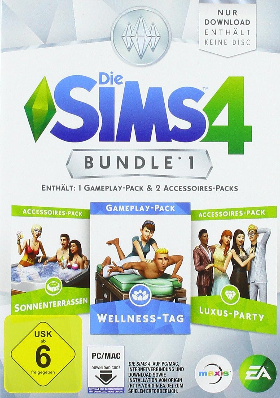 Die SIMS 4 - Bundle 1 (Code in der Box) - [PC]: Amazon.de: Games
