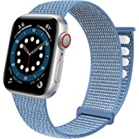 Sport Loop Band Compatible with Apple Watch Band 38mm 40mm 41mm 42mm 44mm 45mm iWatch Series 7 6 5 SE 4 3 2 1 Strap…