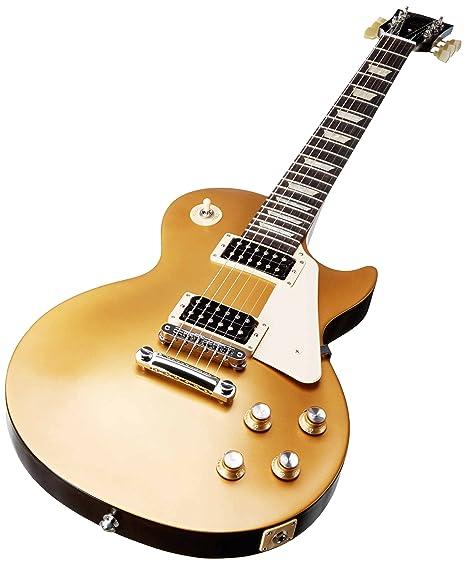 Gibson Les Paul 50s Tribute 2016 T - Guitarra eléctrica, color satin gold top