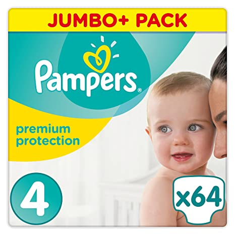 Pampers Premium Protection Couches Taille 4 9 14 Kg Jumbo