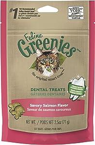 Greenies Feline Savory Salmon Flavor