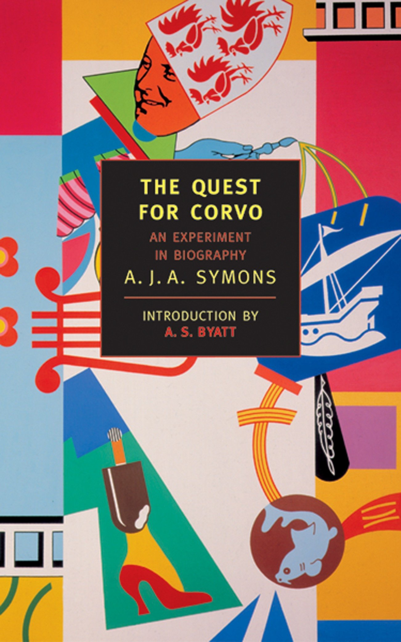 Read Online The Quest for Corvo: An Experiment in Biography (New York Review Books Classics) pdf