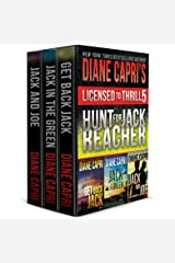 Licensed to Thrill 5: Hunt For Jack Reacher Series Thrillers Books 4-6 (Diane Capri's Licensed to Thrill Sets) Kindle Edition