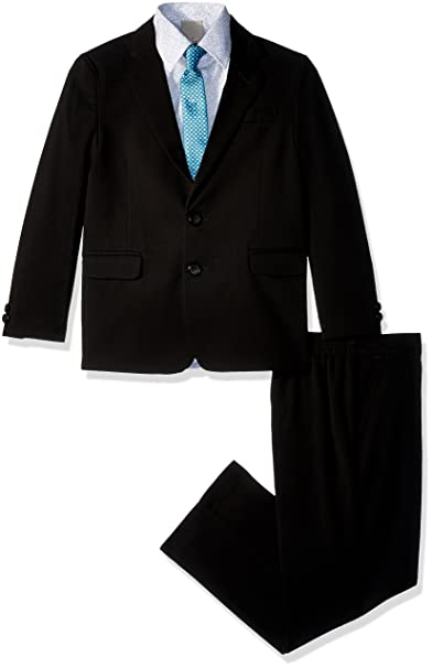 Amazon.com: Kenneth Cole Boys 4-Piece Formal Suit Set: Clothing