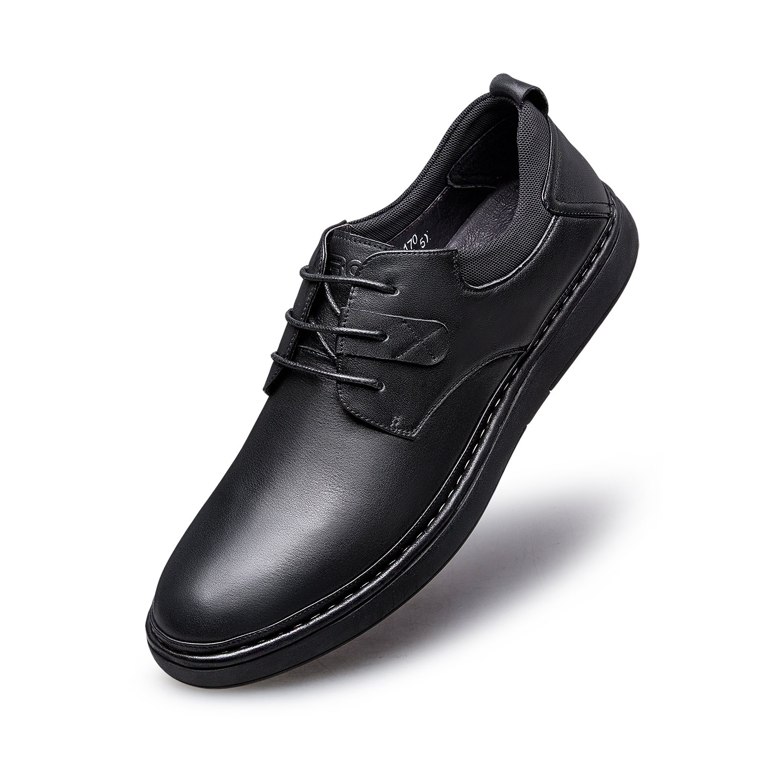 ZRO Men's Classic Fashion Casual Lace Up Oxfords Shoes Black US 9.5
