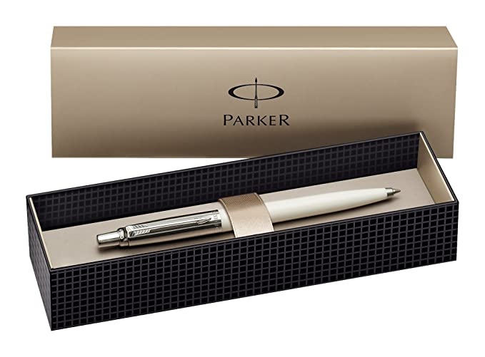 Parker Jotter Special Edition 60th Anniversary Whiteness, creme-weiß