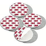 mumbi 4er Set Magnetbefestigung für Rauchmelder Magnet Befestigung für glatte Flächen (NICHT für Rauhfaser oder losen Putz)