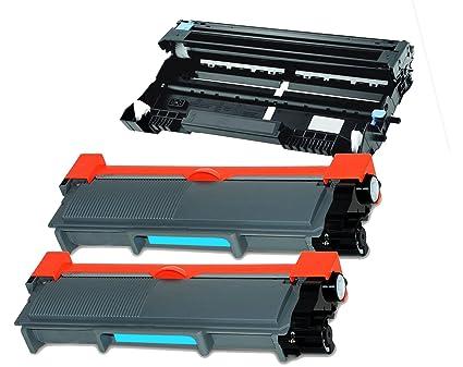 2 Compatible TN660 TN2320 cartuchos de tóner + tambor DR-2300 para ...