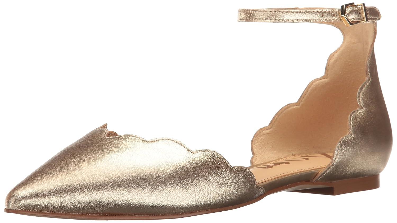 Sam Edelman Women's Rowan Mary Jane Flat B01M68QYCT 10.5 B(M) US Molten Gold