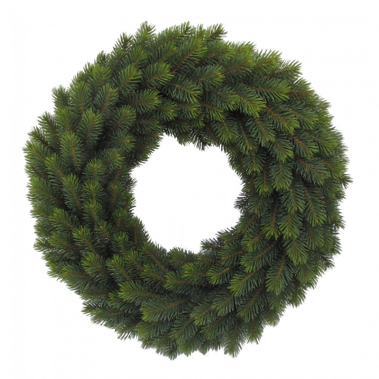 Künstlicher Tannenkranz grün 65cm beidseitig beidseitig beidseitig rund 15e8bb