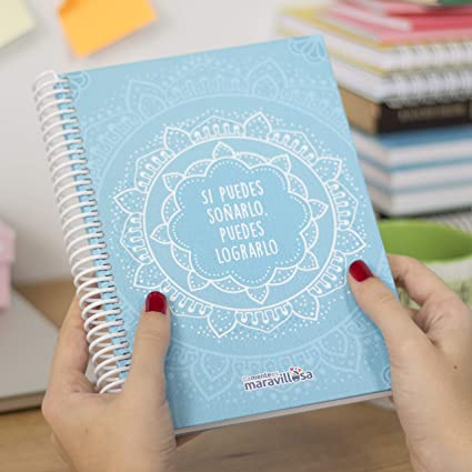 La Mente es Maravillosa - Cuaderno A5 (Si puedes soñarlo ...