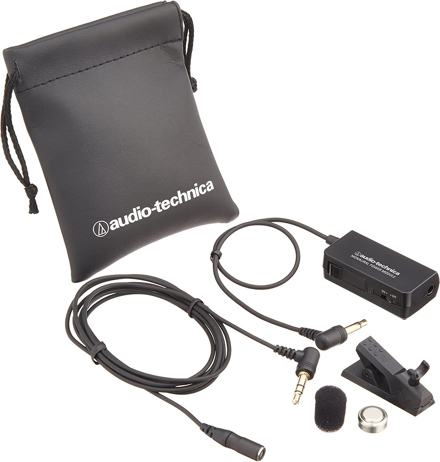 Audio-Technica AT9903 Subminiature Mono Lavalier Electric Condenser Microphone