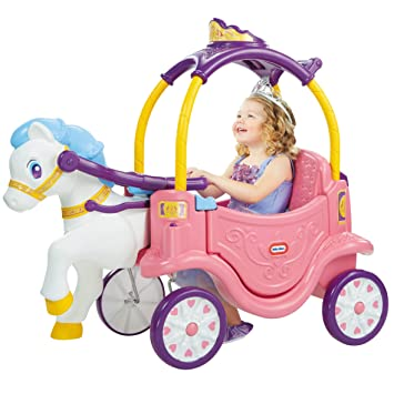 little tikes Princess Horse & Carriage Apertura por Empuje ...