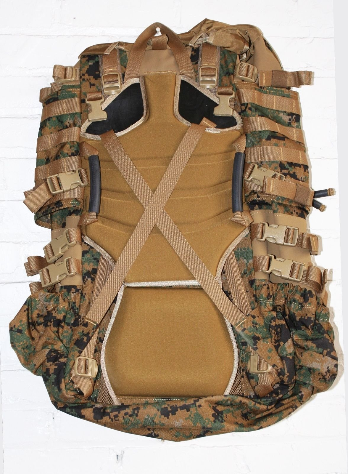 USMC Field Pack, MARPAT Main Pack, Woodland Digital Camouflage, Spare Part, Component of Improved Load Bearing Equipment (ILBE) by Arc'teryx (Image #2)