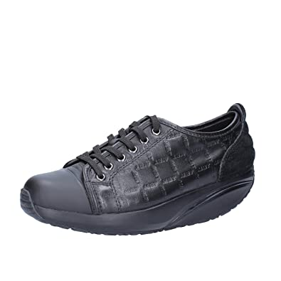 MBT Sneakers/Basket Mode Femme 37 EU Noir Cuir VSriezO4xu