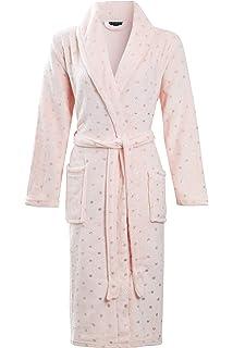 Tom Franks Ladies Woodland Print Robe Dressing Gown