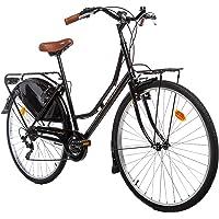 "Moma Bikes Bicicleta Paseo  HOLANDA 28"", SHIMANO 6V. Sillin Confort"