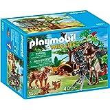 Playmobil 5557 cabane des aventuriers dans les arbres jeux et jouets - Casa del arbol de aventuras playmobil ...