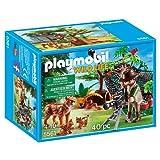 Playmobil 5561 Wildlife Lynx Family with Cameraman