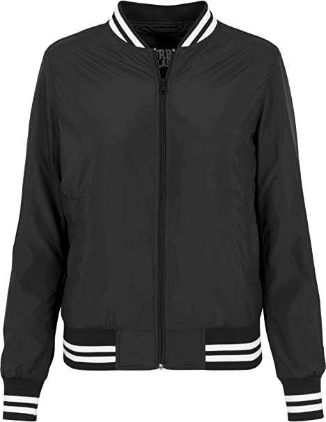Urban Classics Damen Jacke Ladies Nylon College Jacket