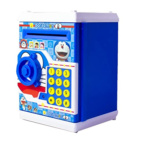 1825e23eb Buy Toyvala Mini Electric Secret Password Safe ATM Piggy Bank Money Safe  Deposit Box Toy Online at Low Prices in India - Amazon.in