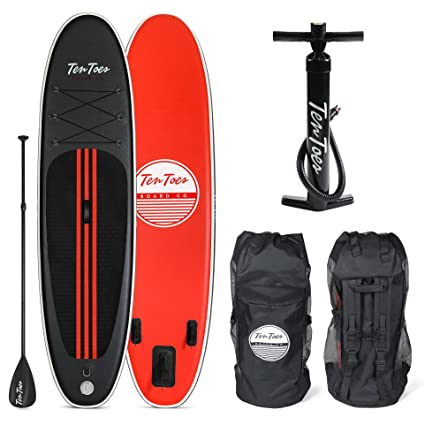 Ten Toes Weekender Inflatable Stand Up Paddle Board Bundle 55d57b7bc7c2