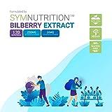 Bilberry Extract 1000mg, 25% Anthocyanins 50mg