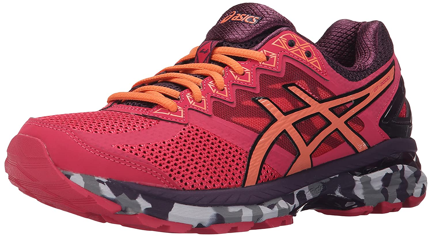 ASICS Women's GT-2000 4 Trail Running Shoe B00YCYG3BU 12 B(M) US|Azalea/Melon/Perfect Plum