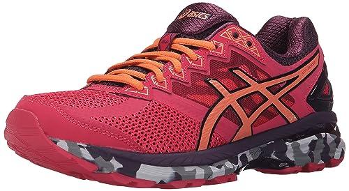 Zapatillas Trail Running GT-2000 4 para mujer, Azalea / Melon / Perfect Plum, 5 M US: Amazon.es: Zapatos y complementos