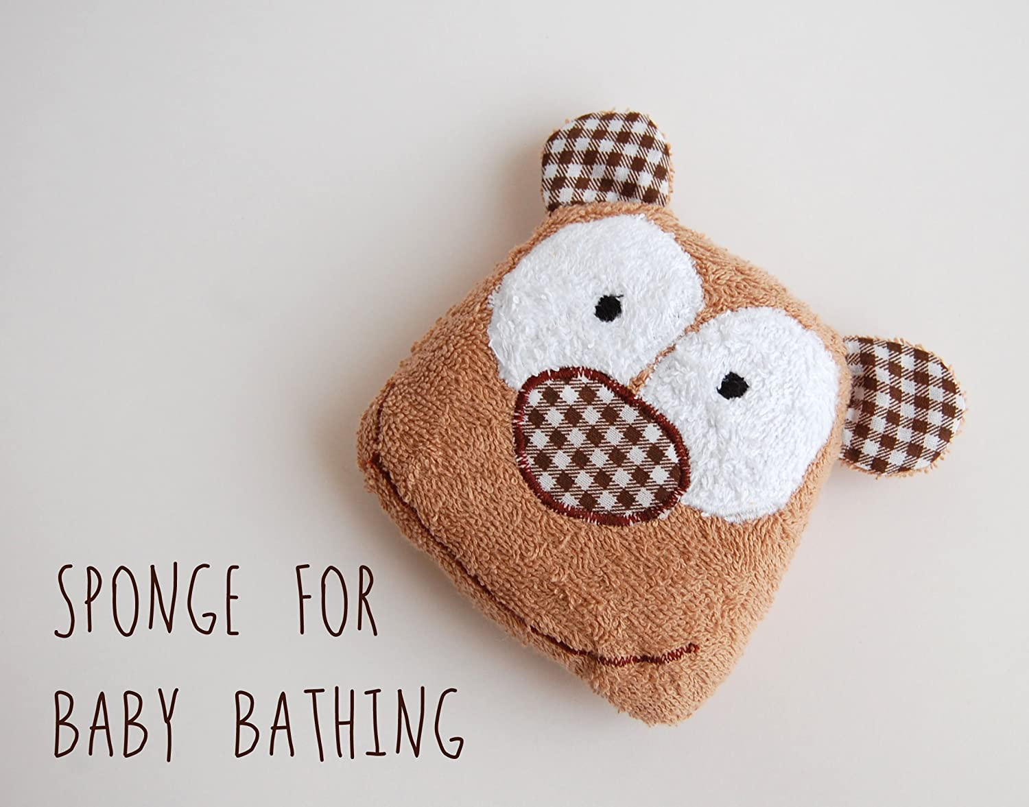 Bear baby bath Terrycloth baby shower, new baby gift, new mom gift