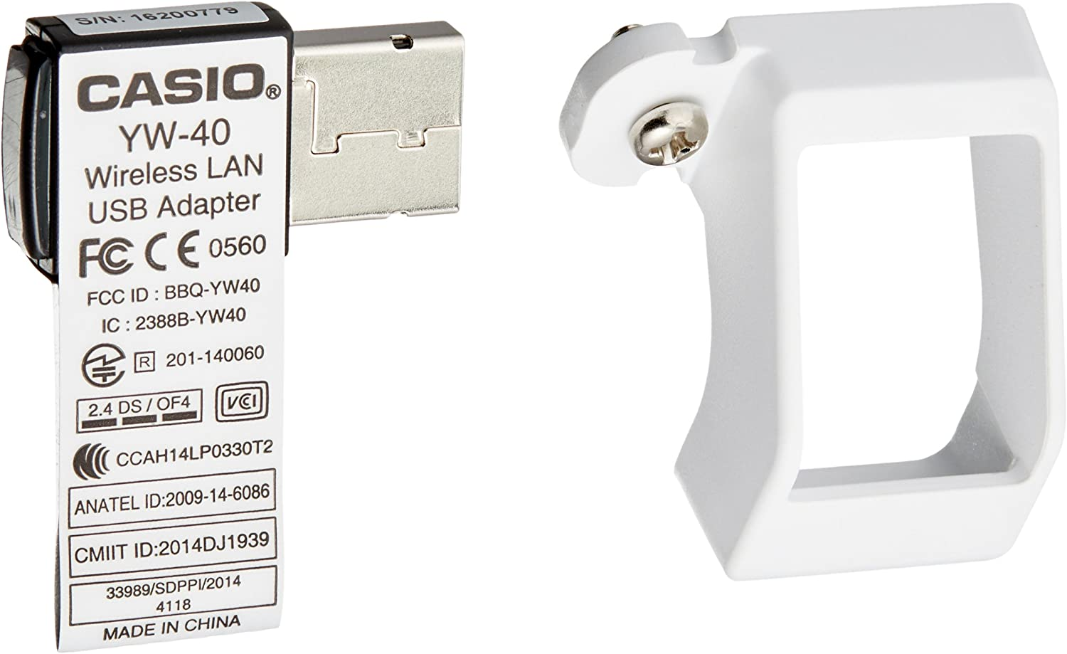 Casio YW-40 Accesorio de proyector Adaptador WiFi USB: Amazon.es ...