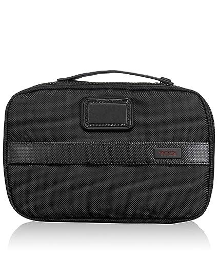 ad3893fb0 Tumi Alpha 2 Split Travel Kit, Black (Black) - 022193: Amazon.co.uk: Luggage