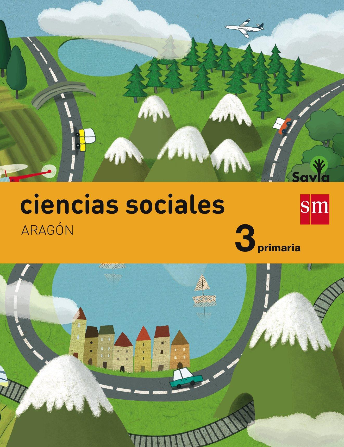 Download Ciencias sociales. 3 Primaria. Savia. Aragón PDF